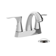 "VOG74CP, H2flo Vogue, 4"" Center Faucet, Polished Chrome"