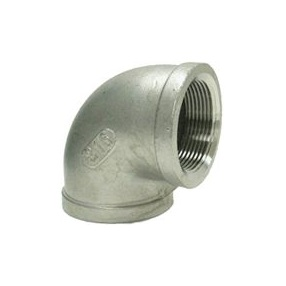 "90° Elbow, 1-1/2"" 304 Stainless Steel"