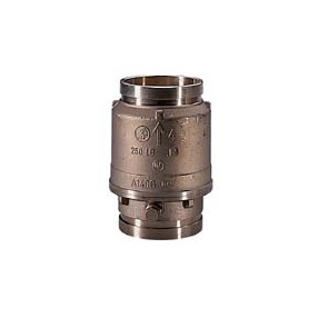 Swing check valve GROOVE X GROOVE Brass A140